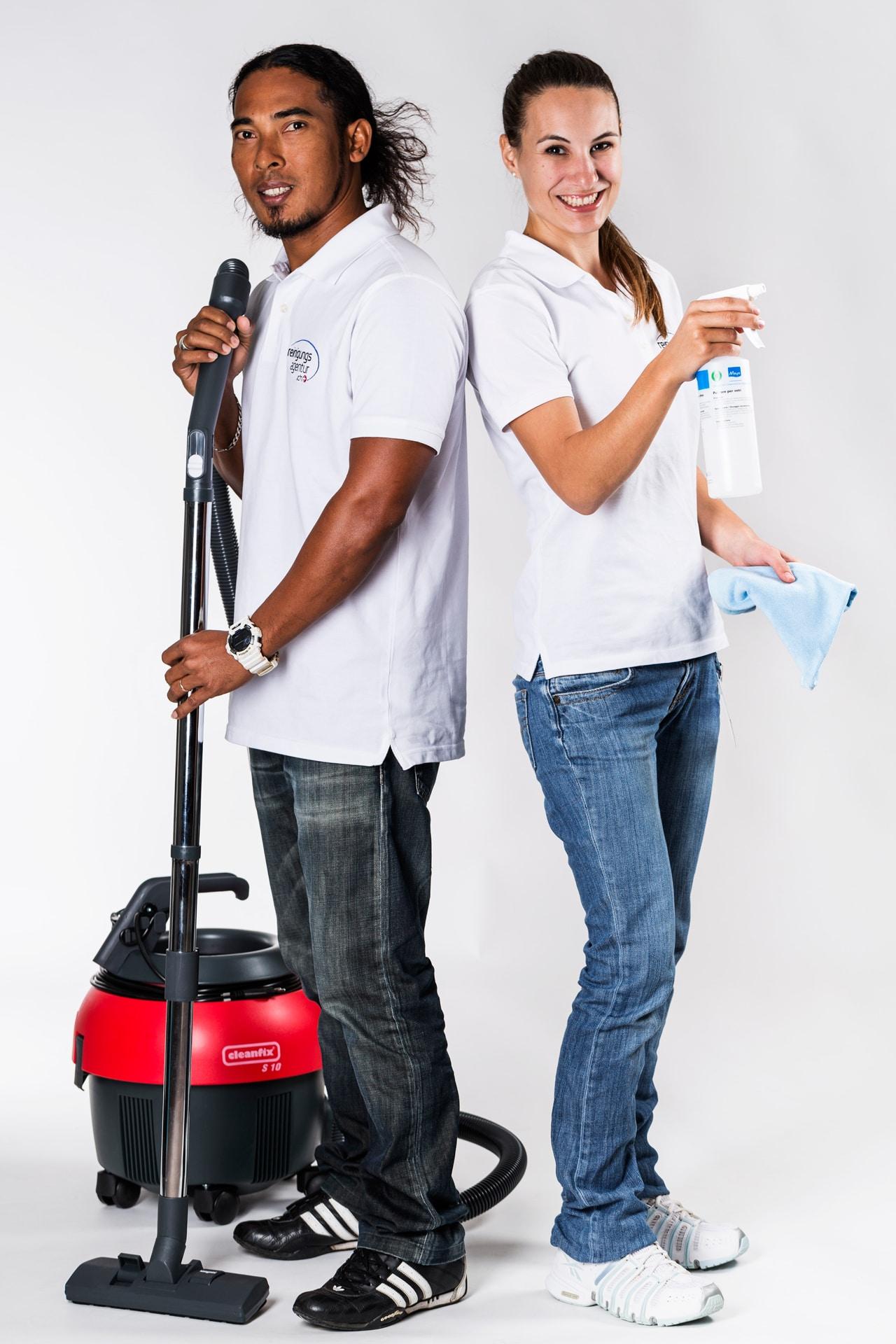 Reinigungsteam | Über uns | About us | Reinigungsunternehmen | Cleaning company