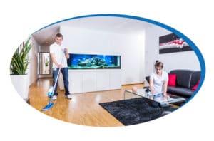 Putzfrauenagentur | Dienstleistungen | Wohnungsreinigung oder Hausreinigung im Abo mit einer Putzfrau der reinigungsagentur.ch
