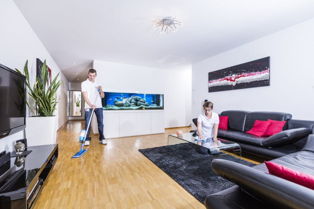 Wohnungsreinigung oder Hausreinigung im Abo mit Putzfrau | reinigungsagentur.ch